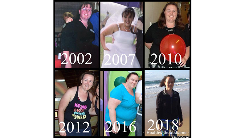 30 years and 500kg later: Why I gave up on diets